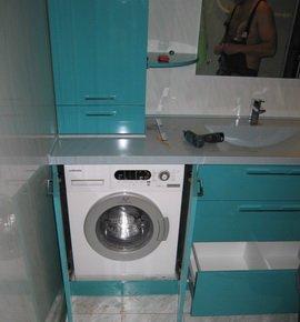 Тумба под раковину и стиральную машину